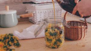 Заливаем сиропом топинамбура